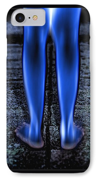 IPhone Case featuring the photograph Blue Legs by Kellice Swaggerty
