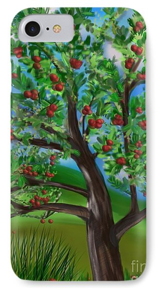 Apple Acres IPhone Case by Christine Fournier