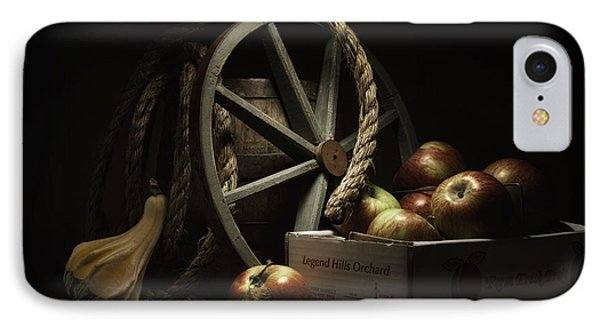 Apple Basket Still Life IPhone Case by Tom Mc Nemar
