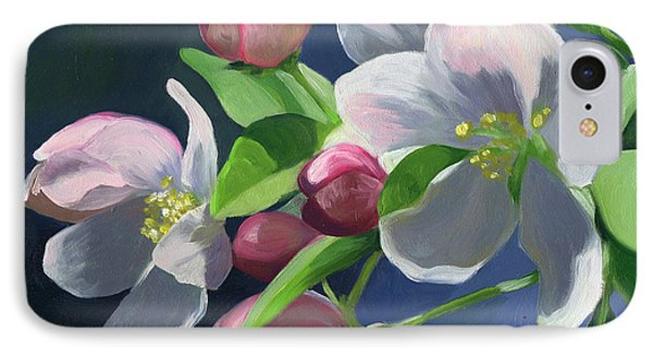 Apple Blossom IPhone Case by Alecia Underhill