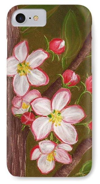 Apple Blossom IPhone Case by Anastasiya Malakhova