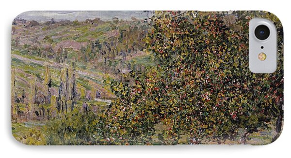 Apple Blossom Phone Case by Claude Monet