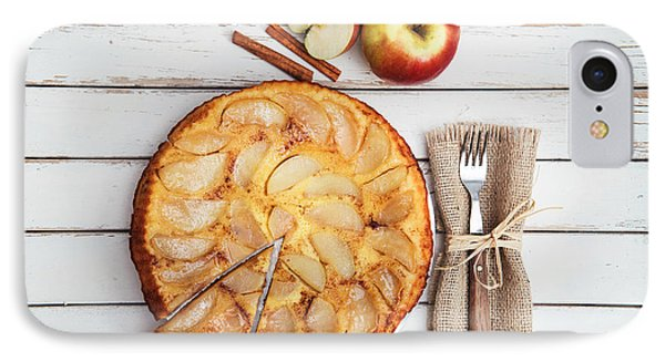 Apple Cake IPhone Case by Viktor Pravdica