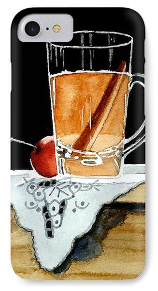 Apple Cinnamon Tea With Mug IPhone Case