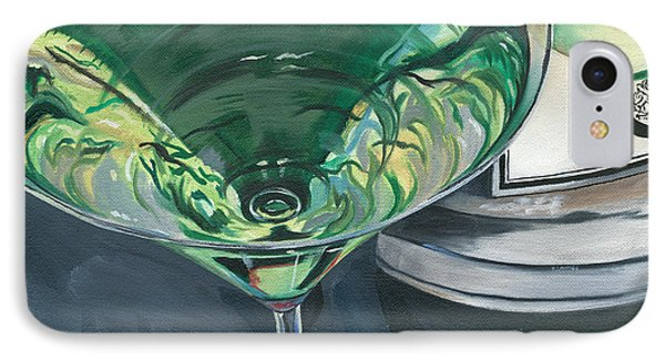 Apple Martini Phone Case by Debbie DeWitt