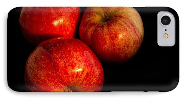 Apple Trio IPhone Case by Jean Noren
