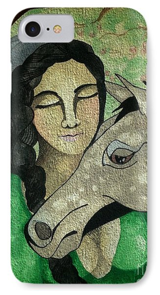 Apples And Horses Phone Case by Amy Sorrell