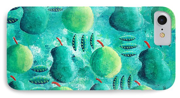Apples And Pears IPhone Case by Julie Nicholls