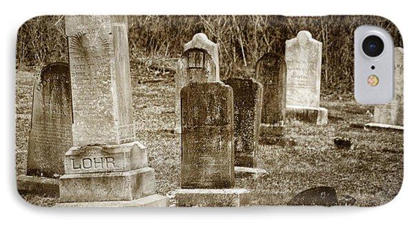 Apples Church Cemetery IPhone Case