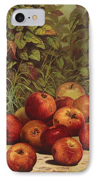Apples Circa 1868 IPhone Case by Aged Pixel