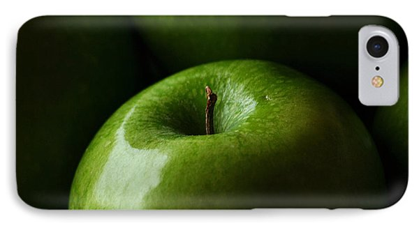 IPhone Case featuring the photograph Apples Green by Lorenzo Cassina