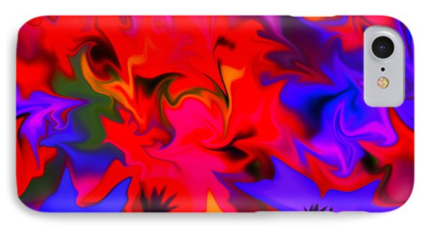 Approach Of Autumn IPhone Case by Bruce Iorio
