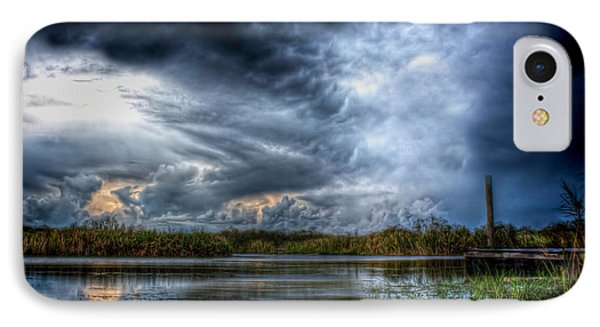 Approaching Storm IPhone Case by Mark Andrew Thomas