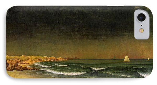 Approaching Storm Near Newport Beach Phone Case by Martin Heade