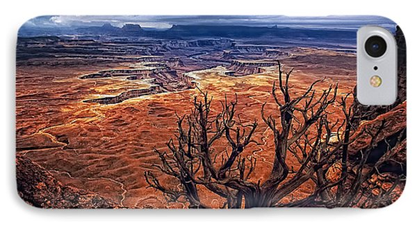 IPhone Case featuring the photograph Approaching Storm by Priscilla Burgers