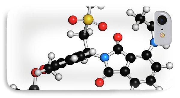 Apremilast Psoriasis Drug Molecule IPhone Case