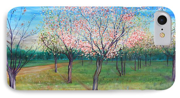 Apricot Orchard IPhone Case