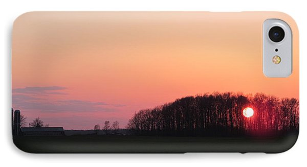 April 24 2013 Sunset IPhone Case by Tina M Wenger