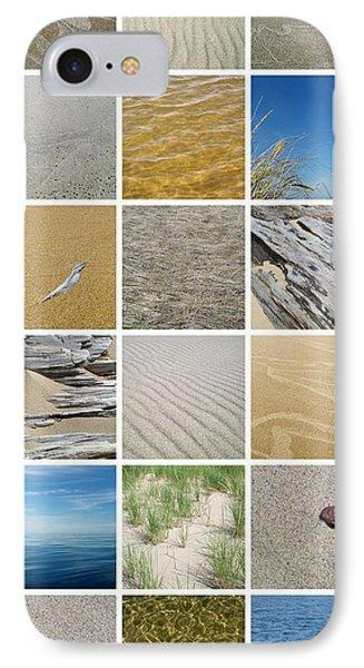 April Beach Phone Case by Michelle Calkins