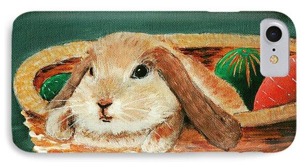 April Bunny IPhone Case by Anastasiya Malakhova