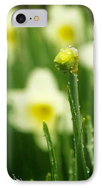 April Showers IPhone Case by Joan Davis