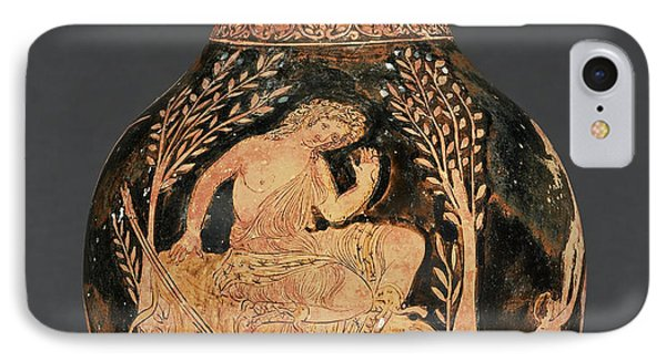 Apulian Red-figure Chous Shape 3 Attributed IPhone Case by Litz Collection