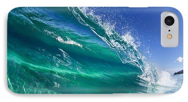 Aqua Blade Phone Case by Sean Davey