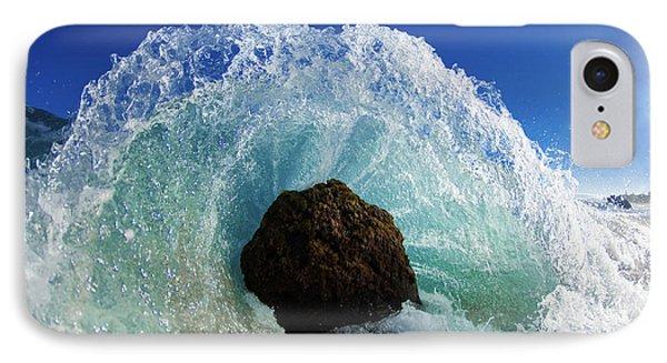 Aqua Dome Phone Case by Sean Davey