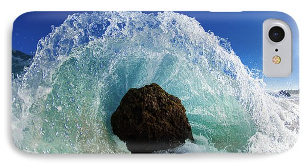 Aqua Dome IPhone Case by Sean Davey