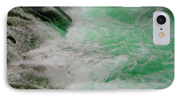 Aqua Falls IPhone Case by Rich Collins