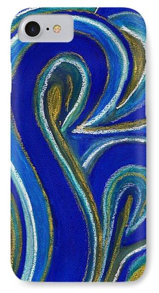 Aqua In Motion IIi Phone Case by Carla Sa Fernandes