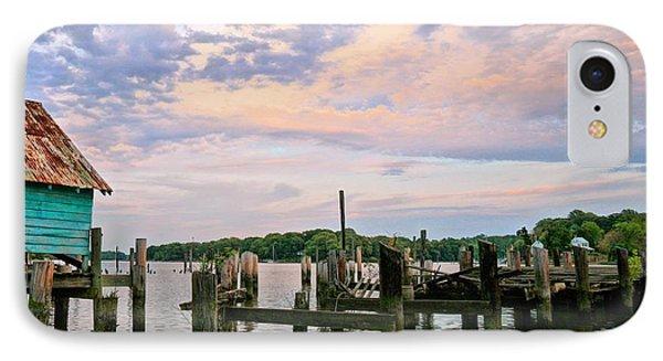 Aqua Marine IPhone Case by JC Findley