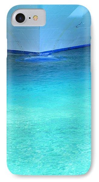 Aqua Phone Case by Randall Weidner
