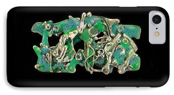 Aqua Reef Phone Case by Laura Wilson