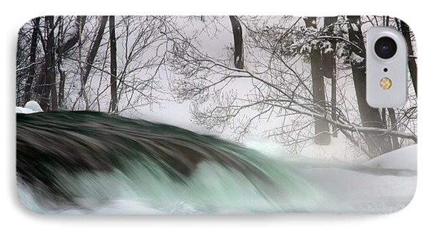 IPhone Case featuring the photograph Aqua Slushie by Timothy McIntyre