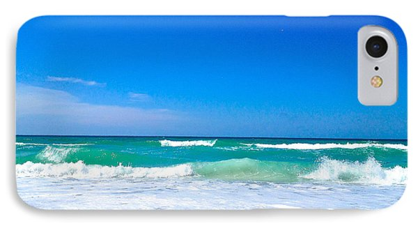 Aqua Surf IPhone Case by Margie Amberge