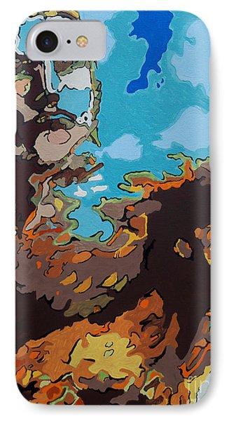 Aquaman - Reflections Phone Case by Kelly Hartman