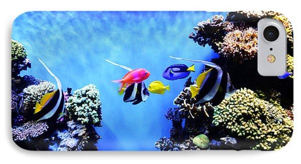 Aquarium 1 Phone Case by Barbara Snyder
