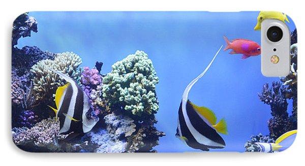 Aquarium 5 Phone Case by Barbara Snyder