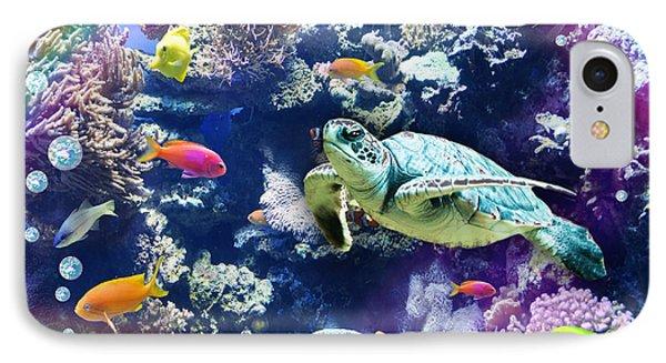 Aquarium Phone Case by Alixandra Mullins