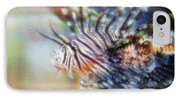 Aquarium Art 12 IPhone Case by Steve Ohlsen
