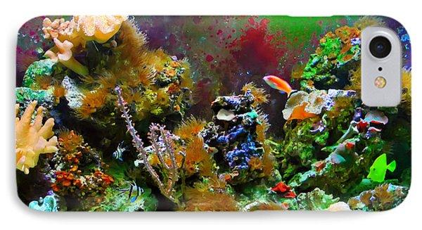 IPhone Case featuring the digital art Aquarium by Kara  Stewart
