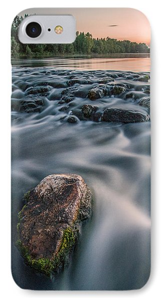 Aquatic Metalic Phone Case by Davorin Mance