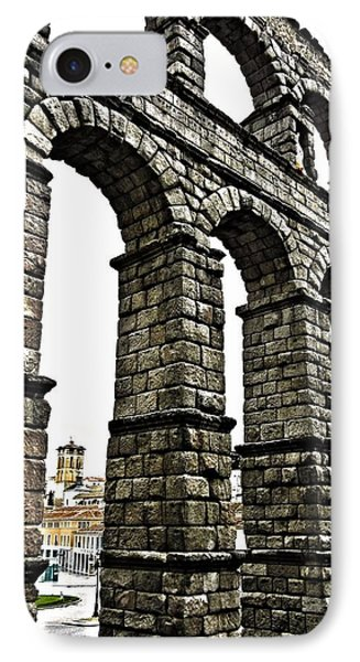 Aqueduct Of Segovia - Spain IPhone Case by Juergen Weiss
