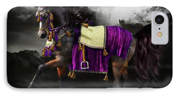 Arabian Horse  Shaitan IPhone Case