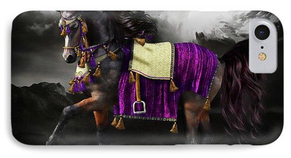 Arabian Horse  Shaitan IPhone Case by Shanina Conway