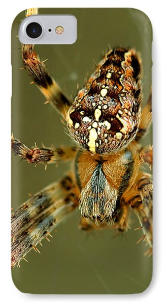 IPhone Case featuring the photograph Arachnophobia by Gene Walls