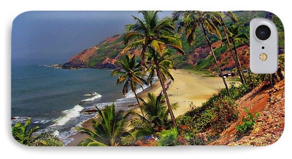 Arambol Beach India IPhone Case by Anthony Dezenzio