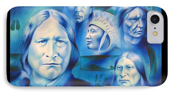 Arapaho Leaders Phone Case by Robert Martinez