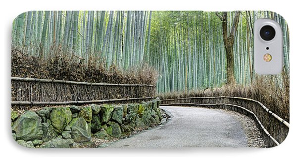 Arashiyama Bamboo Grove, Kyoto, Japan IPhone Case